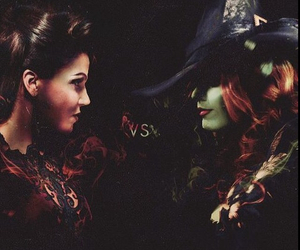 once upon a time, wicked, and zelena image