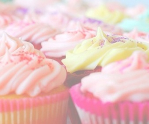 sweet, cake, and cupcake image