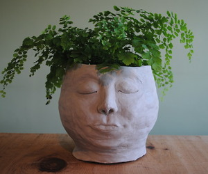 craft, face, and pot image