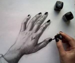 drawing and polish image