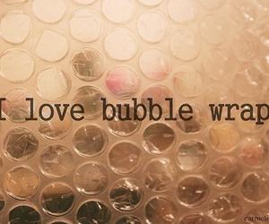 love, bubbles, and bubble wrap image