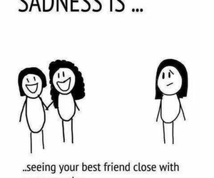 sadness, sad, and friends image