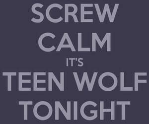 keep calm, tonight, and tv show image