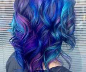 coloful beauty hairstyles image