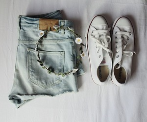 converse, white, and cool image