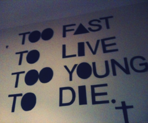 die, live, and quote image