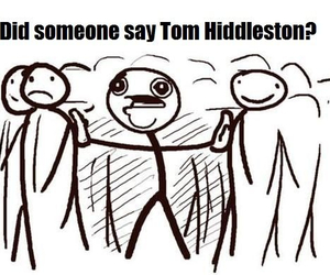 crazy, tom hiddleston, and fan image