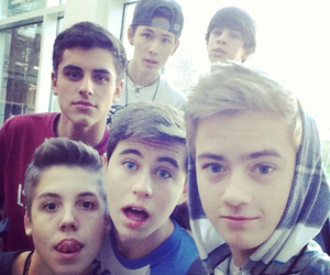 nash grier, magcon, and hayes grier image