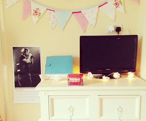 bedroom, cath kidston, and floral image