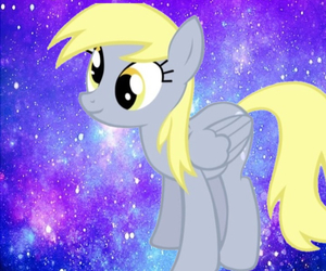 galaxy, MLP, and my little pony image