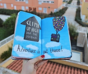 adventure, book, and quality image