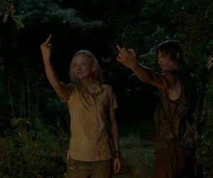 the walking dead, beth, and daryl dixon image