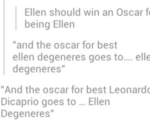 oscar, funny, and ellen image