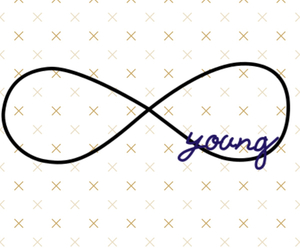 Forever Young, live while we're young, and hope image