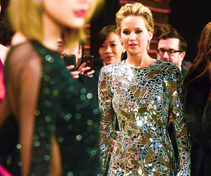 Jennifer Lawrence, Taylor Swift, and dress image