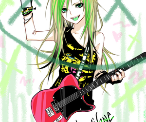 Avril Lavigne and anime version image