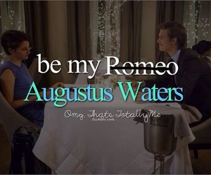 tfios, augustus waters, and hazel image