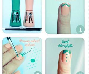 girl, nails, and nice image