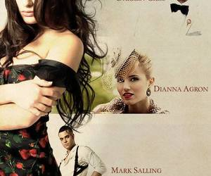 lea michele, darren criss, and dianna agron image