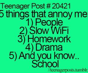 teenager post, school, and teenager image