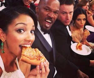 pizza, oscar, and channing tatum image