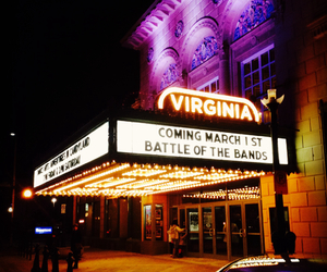 night lights, theatre, and gothic theatre image