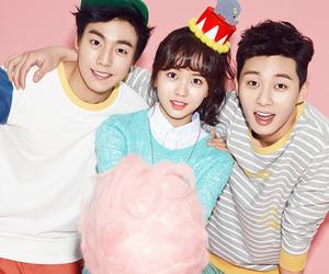 kim so hyun, lee hyun woo, and park seo joon image