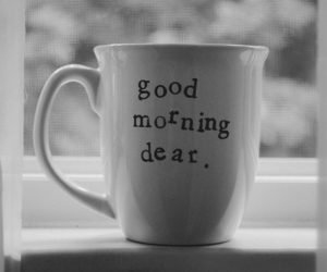 morning and cup image