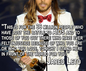 jared leto, oscar, and speech image