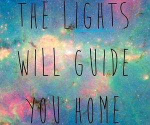 coldplay, lights, and neon image
