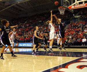 Basketball, women, and gonzaga image