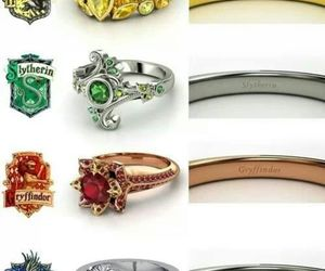 harry potter, rings, and ravenclaw image