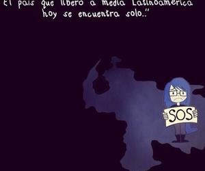 hope, sos, and venezuela image