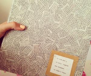 craft, diy, and folder image