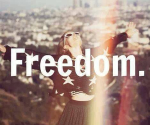 freedom, free, and life image
