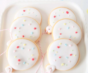 cookie, pastel, and sweet image