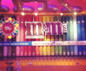 m&m and delicious chocolate image