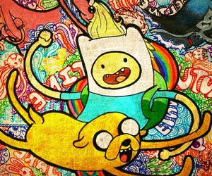 finn, adventure time, and random image