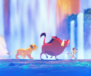 disney, the lion king, and timon image