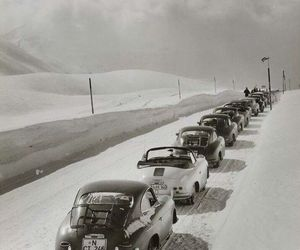 1930s, highway, and traffic image