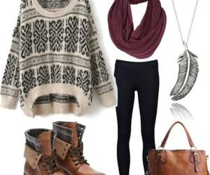scarves and winter image