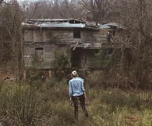 abandoned, girl, and model image