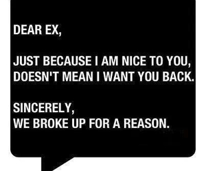 ex, quotes, and boyfriend image