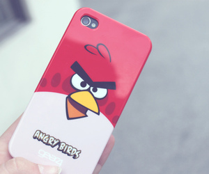 angry birds, iphone, and photography image