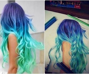 hair and draw image