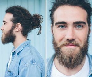 beard, guy, and matt corby image