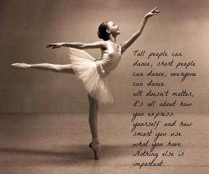 ballerina, ballet, and beauty image
