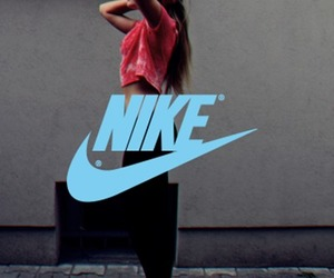 boyfriend, cropped, and nike image
