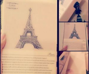 eiffel, romance, and love image