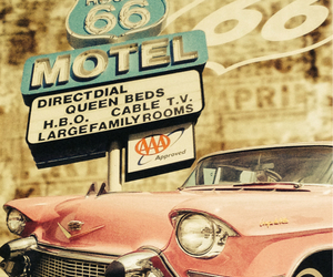 america, motel, and summer image